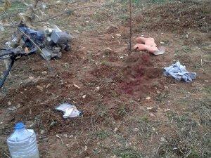 Ayağını çapa makinesine kaptıran şahıs öldü