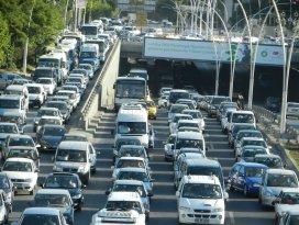 Konyada kayıtlı araç sayısı arttı