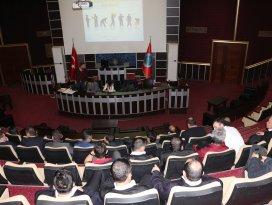 Karatay Belediyesi personeline iş güvenliği semineri