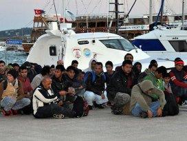 Aydında 58 sığınmacı kurtarıldı