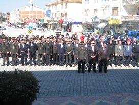 Altınekin'de Çanakkale Şehitleri anıldı