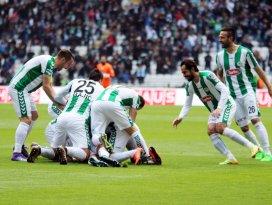 Torku Konyasporda seri sürdü: 1-1
