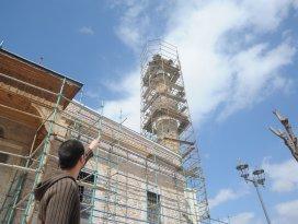 Selçuklu sultanlarının camisinde restorasyon