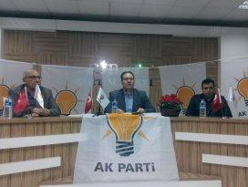 AK Parti Meram İlçe Teşkilatı mahalle toplantılarına devam ediyor