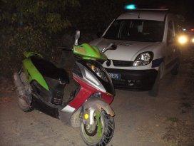 Seydişehirde motosiklet hırsızlığı