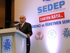 Bakan Avcı SEDEP seminerlerine katıldı