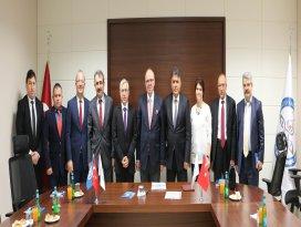 Konya'da dekanlar toplantısı yapıldı