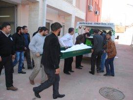 Konyada sondaj makinesine kolunu kaptıran Suriyeli öldü
