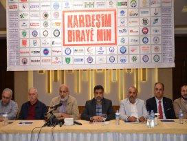 Konya STKlarından Kardeşim-Biraye Min kampanyası