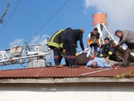Konyada elektrik akımına kapılan boyacı öldü