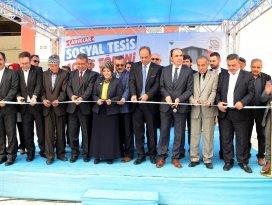 Meramda Çarıklar Sosyal Tesisi açıldı