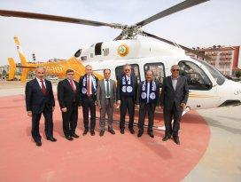 Genel müdürler Beyşehir'de