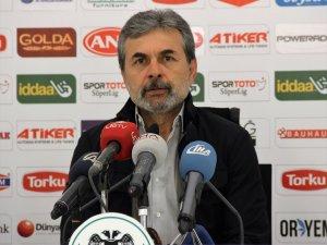 Aykut Kocaman Fenerbahçe galibiyetini değerlendirdi