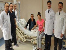 Hastalarına hem kan hem can verdiler