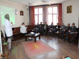 Karatay emekli konaklarında sağlık seminerleri