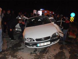 Konyada trafik kazası: 1 ölü, 2 yaralı