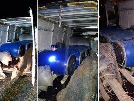 Mardinde patlayıcı yüklü minibüs ele geçirildi