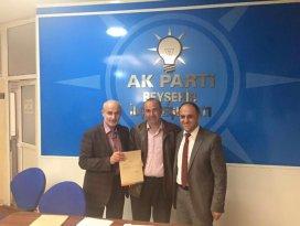 AK Partide Beyşehirde atama töreni