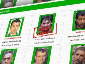 Yeşil listedeki terörist etkisiz hale getirildi