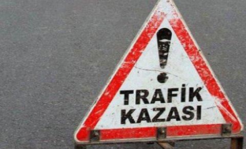 Akşehirde trafik kazası: 1 ölü, 1 yaralı