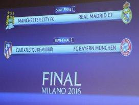 Şampiyonlar Liginde yarı final eşleşmeleri belli oldu