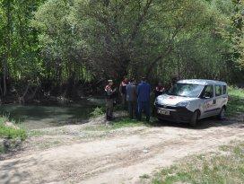 Konyada sulama kanalına düşen kişi boğuldu