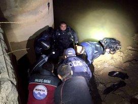 Konyada sulama kanalına düşen çiftçi boğuldu