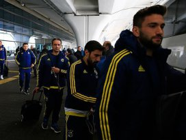 Fenerbahçe kafilesi Konyaya geldi