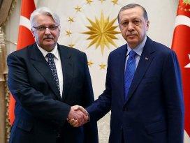 Erdoğan, Waszczykowskiyi kabul etti