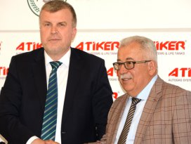 Konyaspor ile Atiker 3 yıllığına anlaştı