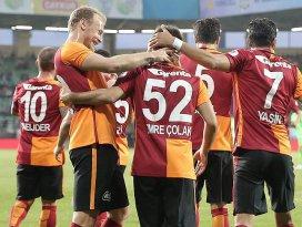 Galatasaray kupada avantaj sağladı