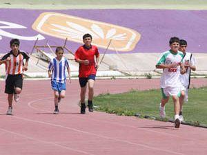 İşitme engelliler Konyada yarışıyor
