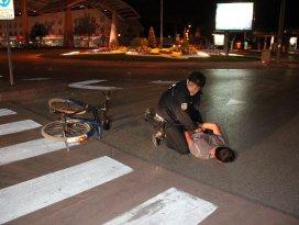 Bisiklet hırsızları kovalama sonrasında yakalandı