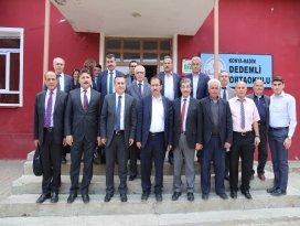 Hadimde Bozkır Barajı bilgilendirme toplantısı