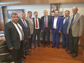 STK başkanlarından Ankara ziyareti