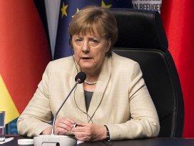 Almanya Başbakanı Merkel Türkiyeden ayrıldı
