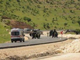 Mardindeki terör saldırısında 12 polis yaralandı