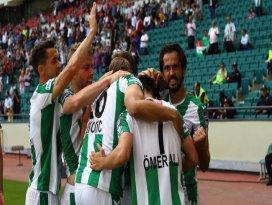Konyaspor Avrupa Ligine katılmayı garantiledi