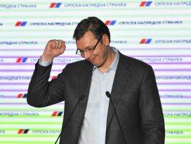 Sırbistandaki genel seçimde Vucic, oyların yüzde 50,9unu aldı