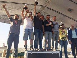 Beyşehirli Off-Roadcu Haceli Şam'ın birincilik sevinci