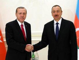 Cumhurbaşkanı Erdoğan, Aliyev ile görüştü