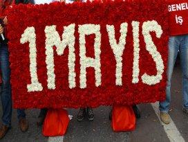 1 Mayıs kutlamaları Bakırköyde