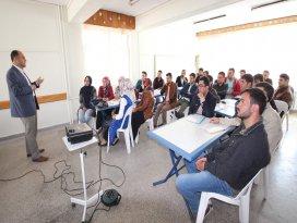 Özaltun, Huğlu'nun girişimci adaylarıyla buluştu