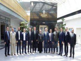 Toru, Konyaspor yönetimini ağırladı