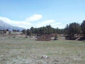 Derebucakta sulama göleti yapımı başladı