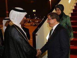 Davutoğlunun Katar ziyaretinde bir ilk