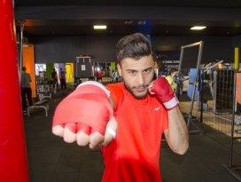 Milli kick boksçunun hedefi Avrupa şampiyonluğu