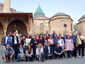 Tarihçiler Konya'da tarihe yolculuk yaptı