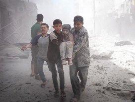 Suriye rejimi Halepi bombaladı: 11 ölü, 35 yaralı