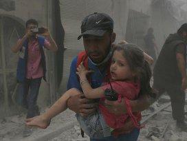 Suriye rejimi Halepte tıp merkezini vurdu: 5 ölü